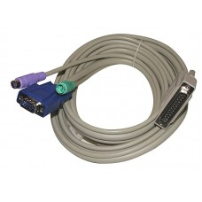 ADDER VADD-PS2 5M Multi-Platform PS/2 KVM Tri-Cable Combo for X2 Range