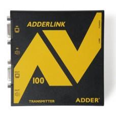 ADDERLink AV100T ALAV100T AV VGA Digital Signage Transmitter Unit ADDERLink AV100T AV VGA Digital Signage Transmitter Unit over Single CATx Cable