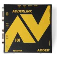 ADDERLink AV101R ALAV101R AV VGA Digital Signage Receiver Unit with SKEW & Cascade Port