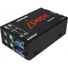 ADDERLink ipeps DA (VGA PS2 or USB) Stand Alone Dual Access KVM Over IP Unit Plus Local Control