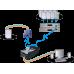 ADDERLink X200 KVMA USB VGA Audio Out (USB CAM) Two Port Remote User Station Extender Pair Inc SKEW Compensation