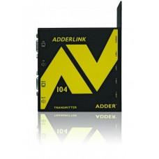 ADDERLink AV104T ALAV104T AV VGA Digital Signage 4 Way Transmitter Unit over Single CATx Cable