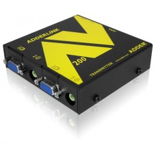 ADDERLink AV208T ALAV208T AV & R232 VGA Digital Signage 8-Way Transmitter Unit over Single CATx