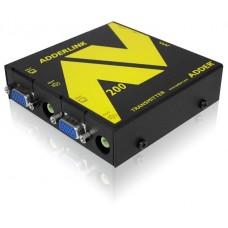 ADDERLink AV208T ALAV208T AV & R232 VGA Digital Signage 8-Way Transmitter Unit over Single CATx