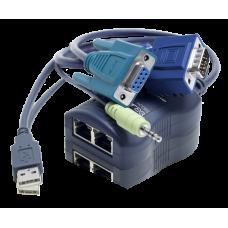 ADDER CATx Dual CAM Computer Access Module CATX-USBA-DA Dual Access RJ45 Socket - USB VGA Audio & RS232