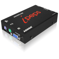 ADDERLink Digital ipeps (DVI & USB) Stand Alone Dual Access KVM Over IP Unit