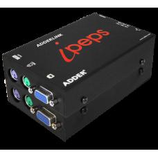 ADDERLink Digital ipeps (DVI & USB) Stand Alone Dual Access KVM Over IP Unit