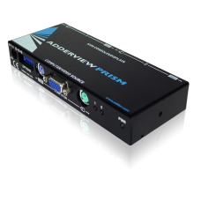 ADDERView Prism 2 Port Reverse KVM Switch/Distribution Amplifier IEC PSU