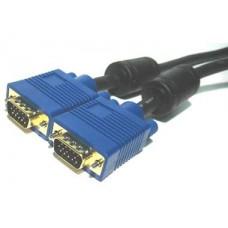 ADDER VSC18 2M Tri-Coax Video 15HDD Male-Male DDC Compliant DVIi/VGA Cable
