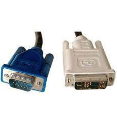 ADDER VSC100 2 Metre DVI-i/VGA Adapter Cable Male-Male