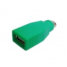 ADDER VSA91 PS2(F) to USB(M) Mouse Adapter (Green) for IPEPS