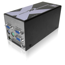ADDERLink MultiScreen X2-MS4 Quad Head PS2 KVM & RS232 CATx Extender 300Mtr